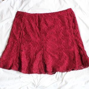 Nanette Lepore Skirts - Nanette Lepore Flared Mini Skirt